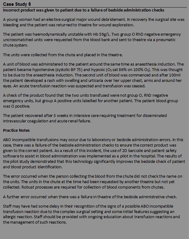 unit 1 case study 1 blood 1 case study – unstageable pressure ulcer unit (sau) for a two vessel cab review the case study information.