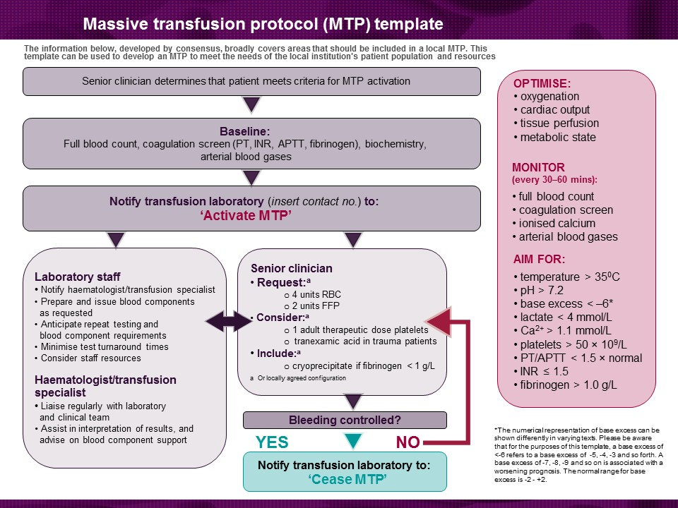 Patient blood management guidelines module 1 for Protocol synopsis template