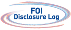 FOI Disclosure Log logo