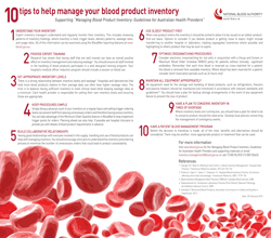 Managing Blood Product Inventory | National Blood Authority