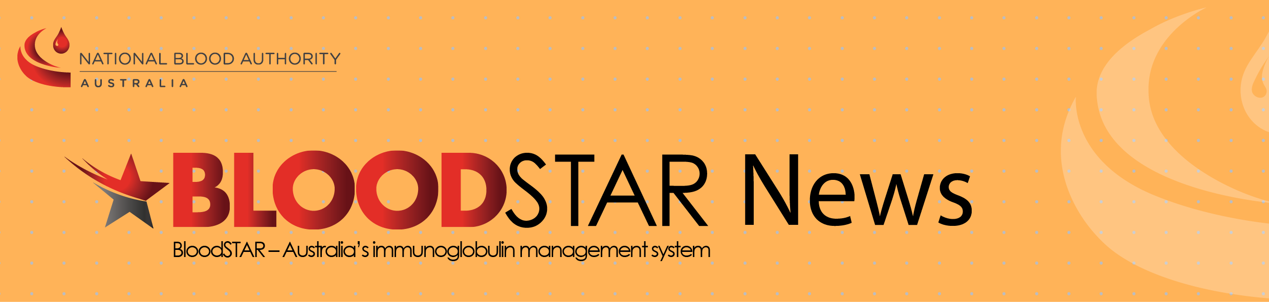BloodStar newsletter header