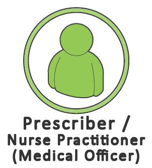 Prescriber/nurse practitioner icon