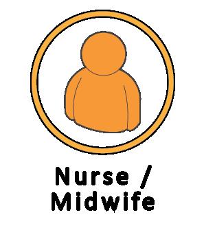 Nurse/midwife icon