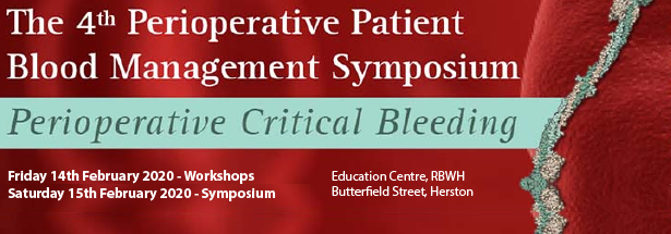 2020 Perioperative Patient Blood Management Symposium