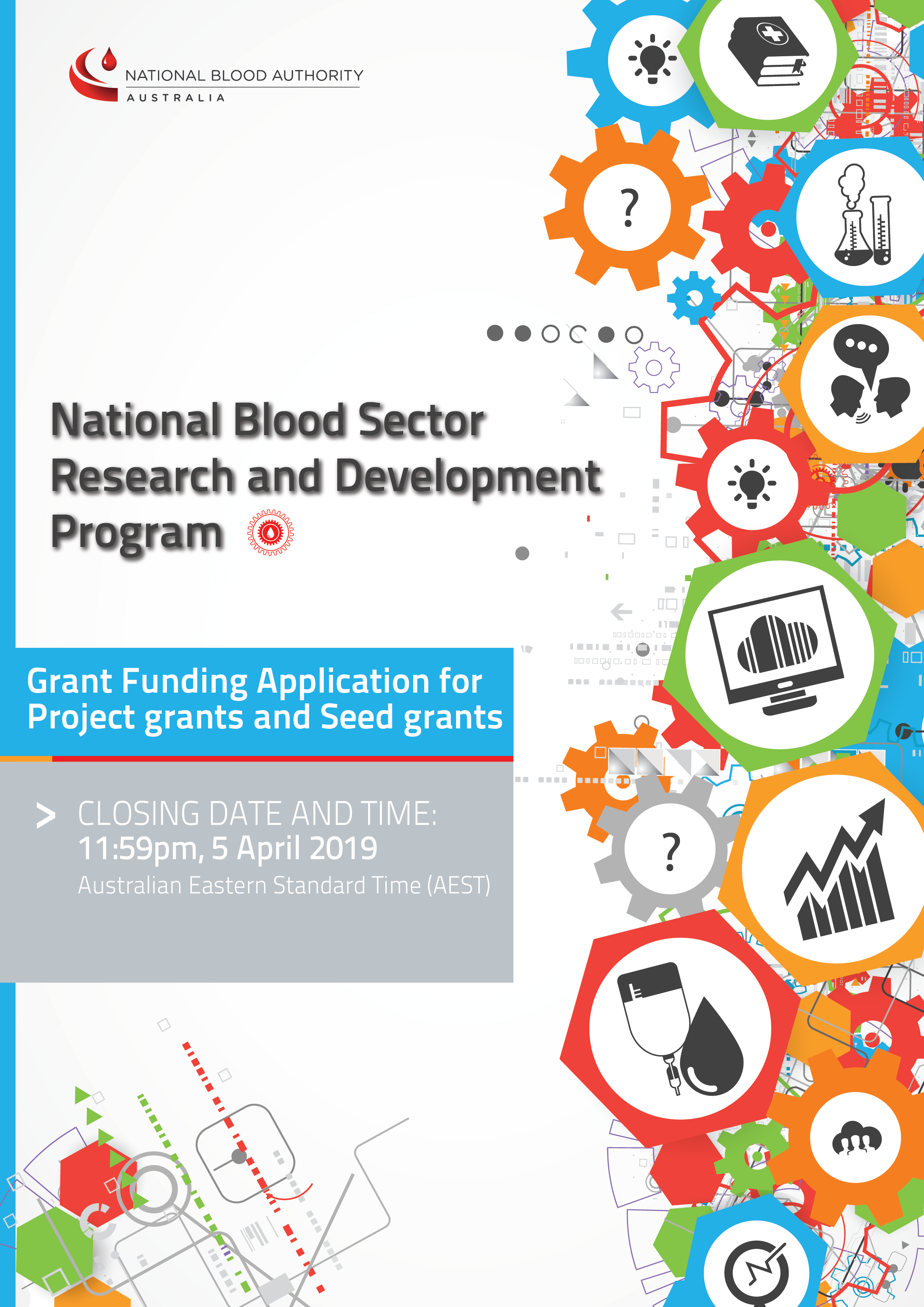 Image of cover for aplication for project and seed grants