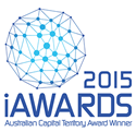 Picture of the iawards winner logo
