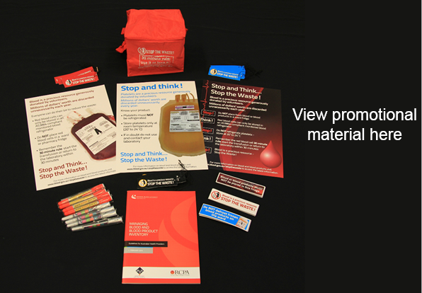 Picture of Stop the Waste promotional items and text view promotional items here