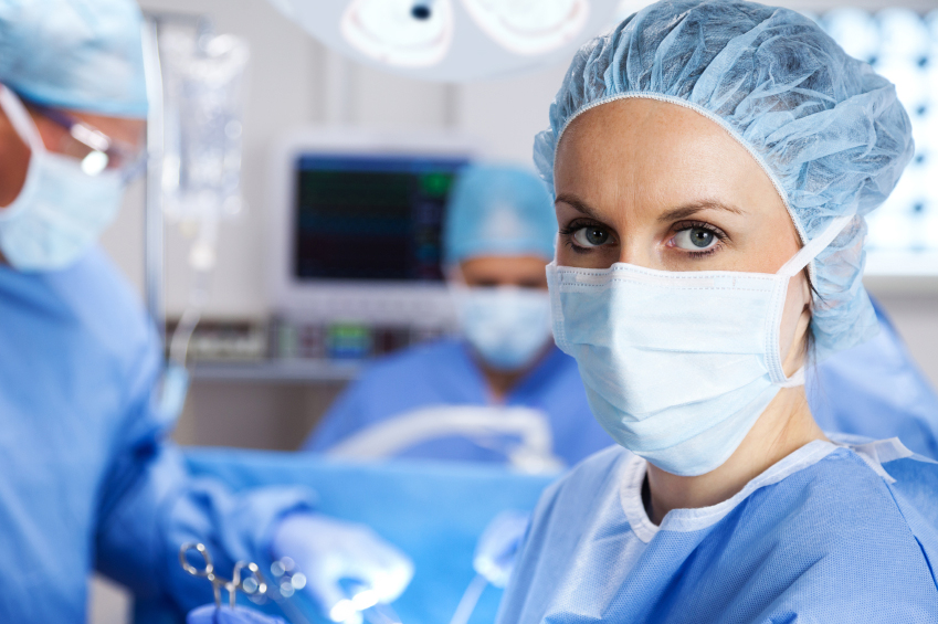 Picture of surgeon