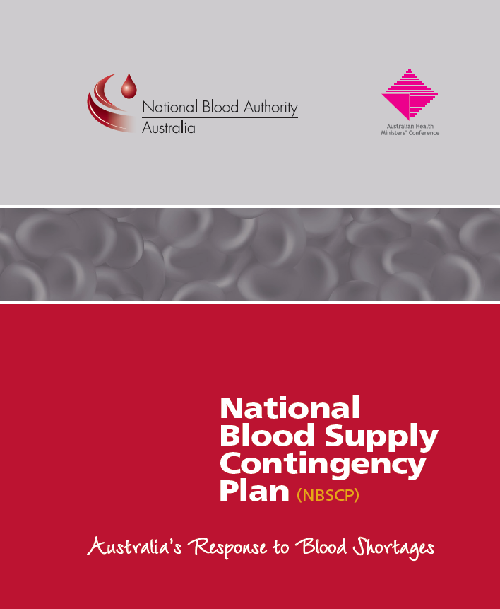 National Blood Supply Contingency Plan image