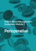 Image of front cover of Module 2 Patient Blood Management Guidelines Perioperative