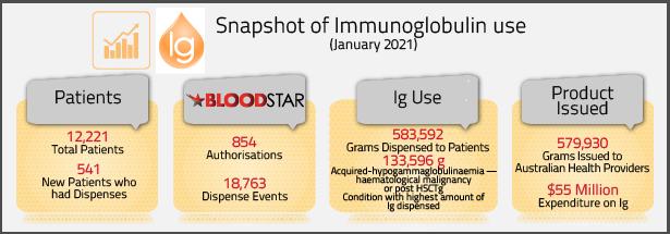 Ig data snapshot for January 2021