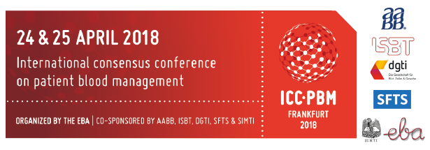 International Consensus Conference on Patient Blood Management