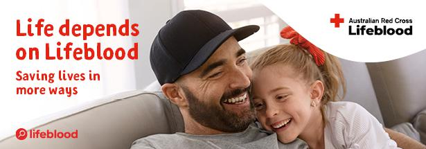 Australian Red Cross Blood Service name change to Lifeblood