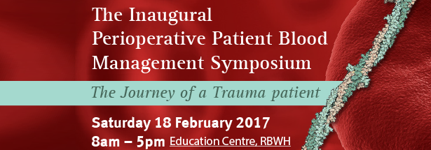 image of Perioperative Patient Blood Management Symposium banner